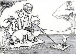 Schweinegrippe bei Winnie Pooh